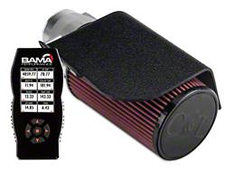 C&L Short Ram Air Intake w/82mm MAF & Bama X4 Tuner (02-04 GT)