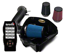 Airaid CAI - SynthaMax Dry Filter & Bama X4 Tuner (11-14 V6)