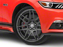 Forgestar F14 Monoblock Matte Black Wheel - 19x9.5 (2015 All)