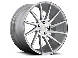 Niche Surge Silver Machined Directional Wheel - Driver Side - 20x8.5 (2015 All)