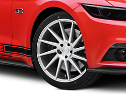 Niche Surge Silver Machined Directional Wheel - Passenger Side - 20x8.5 (2015 All)