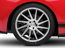 Niche Surge Silver Machined Directional Wheel - Passenger Side - 20x10 (2015 All)