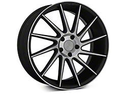 Niche Surge Double Dark Directional Wheel - Passenger Side - 20x8.5 (2015 All)