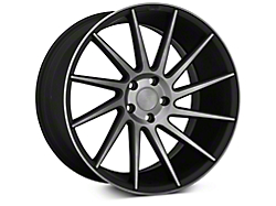 Niche Surge Double Dark Directional Wheel - Passenger Side - 20x10 (2015 All)