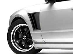 MMD Fender Vents - Matte Black (05-09 All)