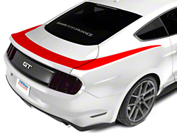Red Upper Rear Surround Decal (2015 All)