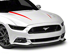 Hood Accent Decal - Red (2015 All)