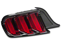 Ford Factory Replacement Tail Light w/ Chrome - Driver Side (2015 All)