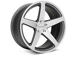 Concavo CW-5 Matte Grey Machined Wheel - 20x10.5 (2015 All)