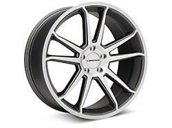 Concavo CW-S5 Matte Grey Machined Wheel - 20x9 (05-14 All)