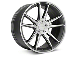 Concavo CW-S5 Matte Grey Machined Wheel - 20x10.5 (05-14 All)
