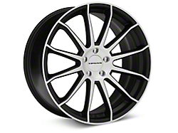 Concavo CW-12 Matte Black Machined Wheel - 20x9 (05-14 All)