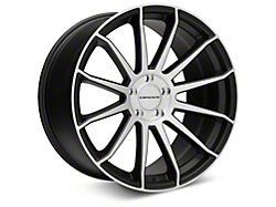 Concavo CW-12 Matte Black Machined Wheel - 20x10.5 (05-14 All)