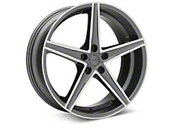 Sporza Topaz Gunmetal Machined Wheel - 20x8.5 (2015 All)
