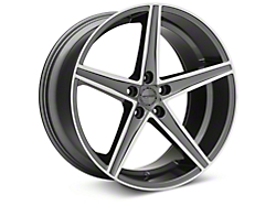 Sporza Topaz Gunmetal Machined Wheel - 20x10 (2015 All)