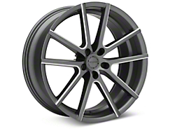 Sporza V5 Satin Graphite Machined Wheel - 20x8.5 (05-14 All)