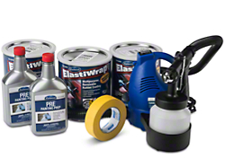 ElastiWrap DIY Complete Spray-on Wrap Kit - Burn Out Black