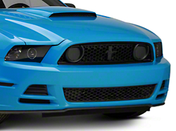 Ford Boss 302 Grille w/o Emblem - Unpainted (13-14 GT, BOSS)