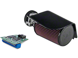 C&L Short Ram Air Intake w/73mm MAF and SCT 4-Bank Chip (94-95 GT)