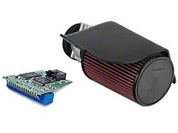 C&L Short Ram Air Intake w/73mm MAF and SCT 4-Bank Chip (94-95 Cobra)