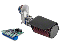 C&L Cold Air Intake w/76mm MAF Housing and SCT 4-Bank Chip (94-95 GT)