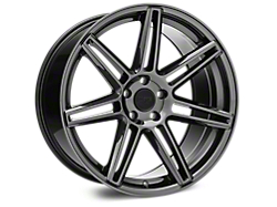 Niche Lucerne Black Chrome Wheel - 20x10 (2015 All)