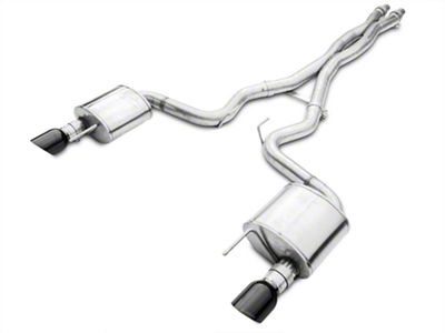 Corsa Xtreme Cat-Back Exhaust - Black Tips (15-17 GT)