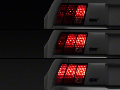 Raxiom Sequential Tail Light Kit - Plug-and-Play (96-04 All; Excludes 99-01 Cobra)