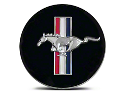 Ford Racing Running Pony Tri-Bar Center Cap - Large