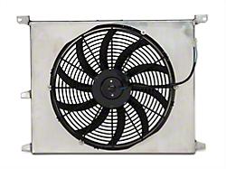 SR Performance Universal 16 in. Performance Slim Electric Radiator Fan w/ Shroud (79-14 All)