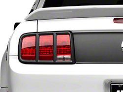 MMD Tail Light Trim - Matte Black (05-09 All)