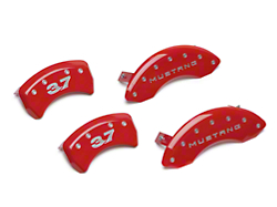 MGP Red Caliper Covers w/ 3.7 Logo - Front & Rear (11-14 V6)