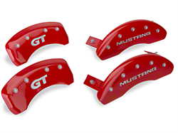 MGP Red Caliper Covers w/ GT Logo - Front & Rear (94-98 GT, V6)