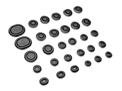 Complete Body Rubber Plug And Grommet Kit (79-93 All)