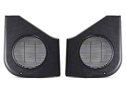 Black Door Speaker Covers - Pair (87-93 All)
