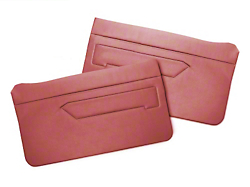 Replacement Door Panel Covers - Scarlet Red (83-93 All)