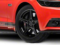 Saleen Style Black Wheel - 19x8.5 (2015 V6, EcoBoost)