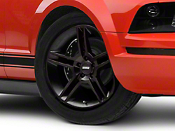 2010 GT500 Style Matte Black Wheel - 18x9 (05-14 All)