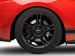 2010 GT500 Style Matte Black Wheel - 19x10 (2015 All)