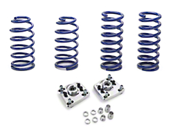 SR Performance Caster Camber Plate & Lowering Spring Kit (94-04 GT, Mach 1, 94-98 Cobra)