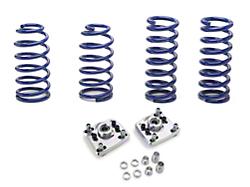 SR Performance Caster Camber Plate & Lowering Spring Kit (94-04 GT, Mach 1, 94-98 Cobra)