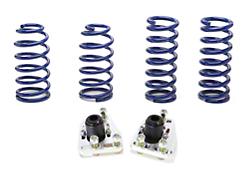 SR Performance Caster Camber Plate & Lowering Spring Kit (79-93 V8)