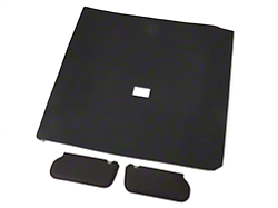 Cloth Sunvisor And Headliner Kit - Black (85-91 Hatchback)