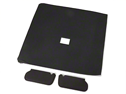 Cloth Sunvisor And Headliner Kit - Black (92-93 Hatchback)