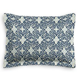 Blue Moroccan Mosaic Sham