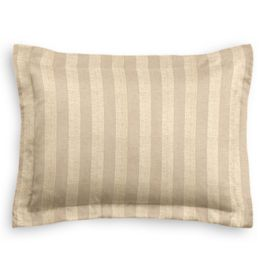 Metallic Gold Stripe Sham