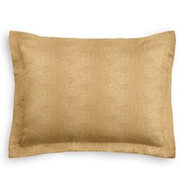 Metallic Gold Linen Sham