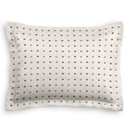Light Taupe Gold Studded Sham
