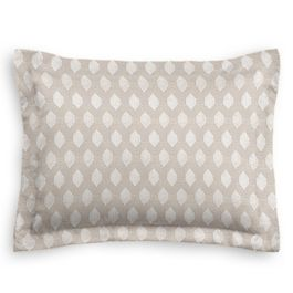 Light Taupe Diamond Sham