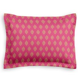 Pink & Orange Diamond Sham